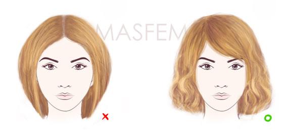 фото стрижки для ромбовидного лица фото