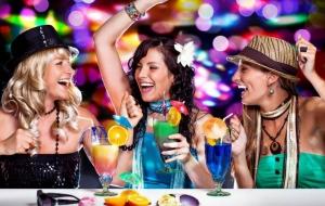 В клубах на девичниках 7